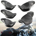 Rider Driver Passenger Seat Two Up For Harley Touring Road King Glide 1997 2007