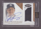 2016 Topps Dynasty ALEX RODRIGUEZ Game Used Jersey Patch Auto 7 10 Yankees