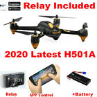 Hubsan X4 H501A PRO FPV APP Drone Quadcopter 1080P Follow Me GPS+ Relay+Battery