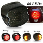 LED Tail Light for Dyna Motorcycle Softail Electra Smoke Lens Brake Turn Si