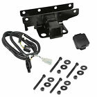 Rugged Ridge 1158052 Trailer Hitch Kit Jeep Logo 07 18 Jeep Wrangler JK