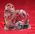 GORHAM Crystal Nativity Gold RAM VERY RARE perfect condition