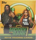 2019 Topps WWE Money In The Bank Hobby Master Box Sealed 4 HITS Wrestling