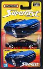 2006 2007 Matchbox Superfast 37 Jaguar XK MIDNIGHT DARK BLUE MOC