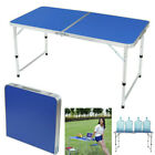 Portable Outdoor Folding Table Aluminum Height Adjustable Roll up Camping Table