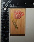 Rubber Stampede Tulip Engraving Rubber Stamp A2558E
