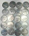 Vintage SUNOCO Antique Car Coin Collection Series 2 Franklin Mint Aluminum Token