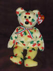 MINT TY Beanie Baby Pinata Mexico Mexican Bear With Flags **CUTE**