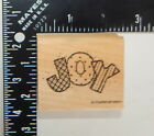 Stampin Up Quilted Joy Shapes Rubber Stamp