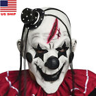 US! Adults Scary Clown Face Latex Mask Halloween Masquerade Cosplay Costume Prop