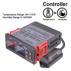 Dual Digital Temperature Humidity Controller Stc-3028 Thermometer Hygrometer 10a