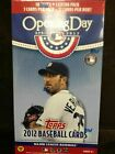 2 Factory Sealed Blaster Box Lot - 2012 Topps Opening Day Baseball Cards