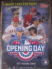 2 Factory Sealed Blaster Box Lot - 2017 Topps Opening Day Baseball Cards