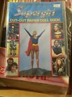 SUPERGIRL Paper Doll Book  1984  DC Comics Illustrated  signed Tom Tierney