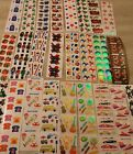 Huge Collection 100 mods sheets Vintage Sandylion Stickers Roll Fuzzy Prism Glow