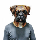 Barry the Boxer Dog Latex Face Mask Prank Halloween Costume Party Animal Head