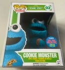 Funko Pop Sesame Street FLOCKED COOKIE MONSTER NYCC Exclusive Comic Con