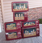 6 NEW PRECIOUS MOMENTS PEWTER NATIVITY THEY FOLLOWED THE STAR NINE PIECE WALL