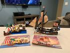 LEGO Pirate Imperial Flagship 6271 & 6267 Lagoon Lockup w Manuals