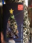 Lemax Multicolor Lighted MEDIUM 6 Inch EVERGREEN TREE Holiday Village