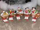 HALLMARK 2016 Disney Express Train Mickey Minnie Donald Goofy Pluto NWT