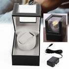 Automatic Single Leather Watch Winder Storage Auto Display Case Box Origanizer
