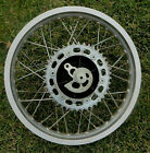 Honda 1984 XL350R Rear Wheel D.I.D 2.15 X 17 With Brake Drum Assembly and Axle