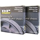 DP Brakes - 9109 - GF Friction Rated Brake Shoes Yamaha PW 50,TT-R 50 E