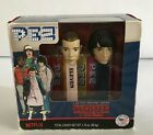 Pez Stranger Things Eleven and Mike w/Candy 2018 NEW Official Netflix NIB