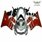 Fit for Honda 1999 2000 CBR600 F4 Fairing ABS Red Silver Plastic Injection i035