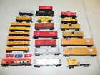 Tyco AHM Bachmann HO Lot of 25 Rolling Stock Freight Cars