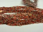 100 Strands 36 Glass Seed Bead Necklaces Wholesale Bulk Lot Clearance NP 43B