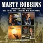 MARTY ROBBINS: DRIFTER / SADDLE TRAMP / WHAT GOD HAS DONE / XMAS (CD.)