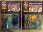 1986 Kenner The Real Ghostbusters Winston Zeddmore  Louis Tully Figures On Card