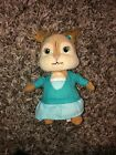 """TY Alvin And The Chipmunks 6"""" ELEANOR Plush Doll w/Tag Green Dress Beanie"""