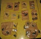 McCULLOCH CHAINSAW HARDWARE PARTS LOT ~ CHAIN LINKS, KEYS, PINS, WASHERS, SEALS