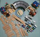 HUGE Thomas the Train Wooden Railway Set Tracks, Trains, Buildings 68-Piece Lot