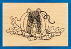 Halloween Mouse Rubber Stamp by Great Impressions Cute Animal Pumpkin Candy Corn