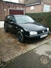 LARGER PHOTOS: Volkswagen Golf 1.4L 02 plate petrol spares or repairs