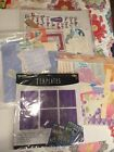 Scrapbook Paper And Template Lot Multiple Themes