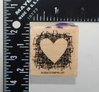 Stampin Up Heart Rubber Stamp