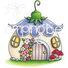 Fairy House Little Bits Cling Rubber Stamp STAMPING BELLA EB707 New