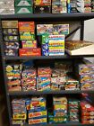 Bulk Old Unopened Baseball Cards 1200 lot Vintage in Wax Cello Rack Pack box