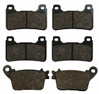 F+R Brake Pads For Honda CBR1000 RR CBR 1000 RRA 2006-2016 2007 2008 2009 2010