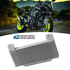 15Row Durable Aluminum Alloy Motorcycle Engine Oil Cooler Radiator w/Accessories