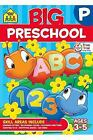 School Zone Big Preschool Workbook Ages 4 and Up Colors Shapes PAPERBACK