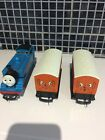 Hornby oo gauge Thomas the tank engine with Annie  Clarabel coaches