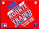 1988 Score MLB Rookie & Traded Baseball Factory Set 110 Cards