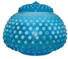 Fenton Hobnail Blue Opalescent 389 5 Covered Jar Candy Extremely RARE