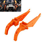 2X Inner Fairing Batwing Support Brackets For Harley Electra Glide Classic FLHTC